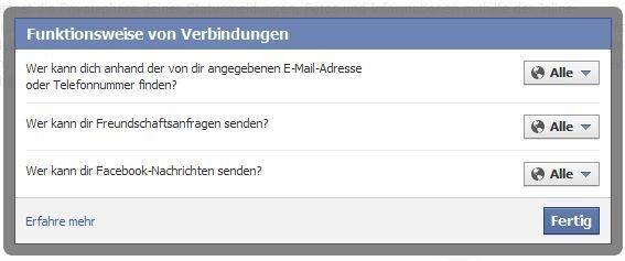 Facebook Handynummer Suchen