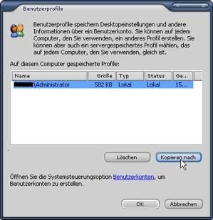Ausgegraut benutzerprofil windows 10 löschen Windows 10: