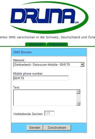 SMS gratis versenden - UPDATE! - pctipp.ch