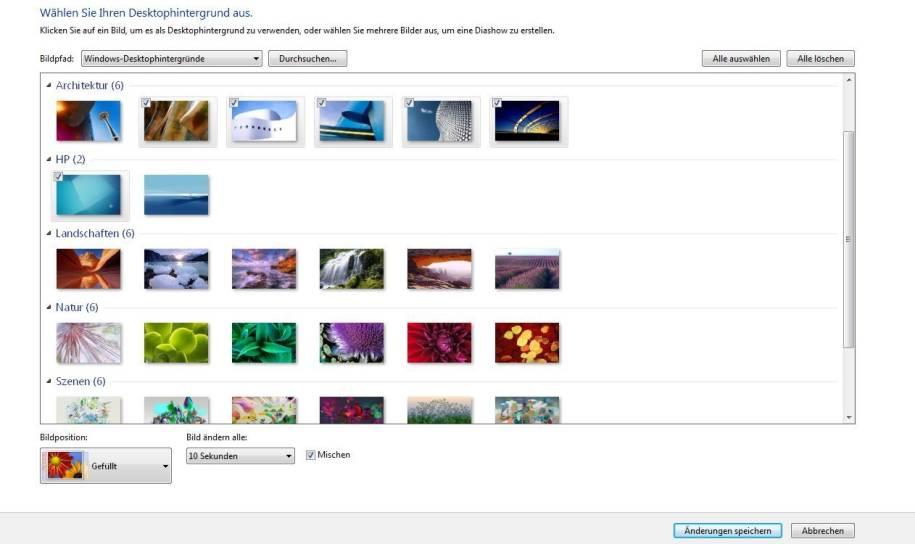 Hintergrund monitore desktop windows 7 2 Guided Help: