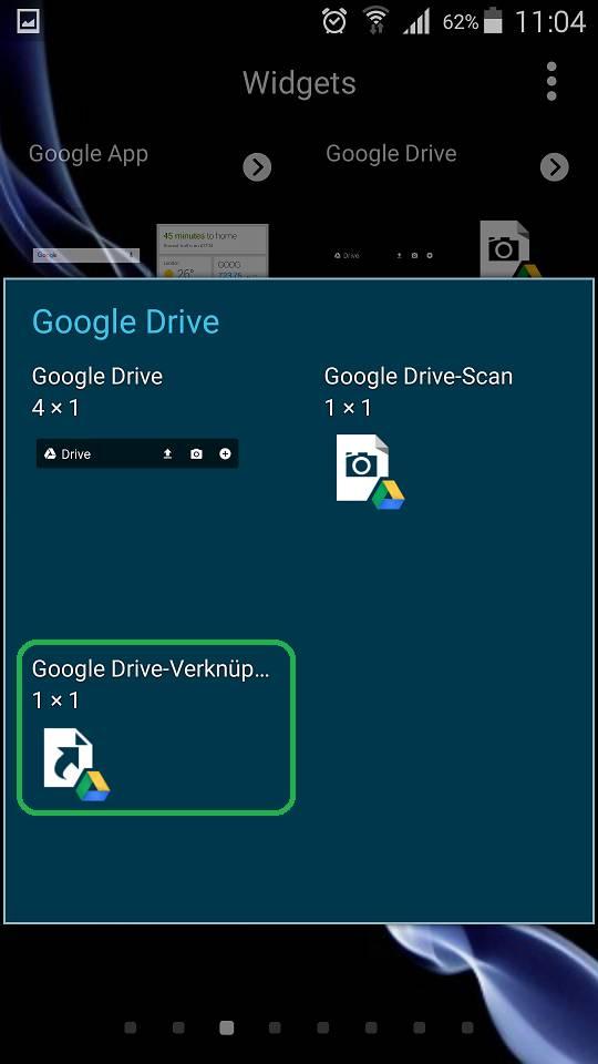 Google Drive Verknüpfung