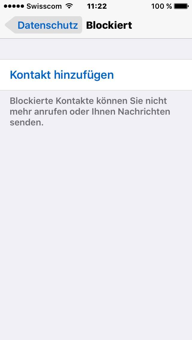 Whatsapp kontakt blockieren