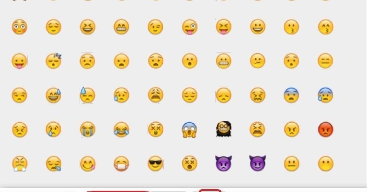 Emoticons kopieren einfügen