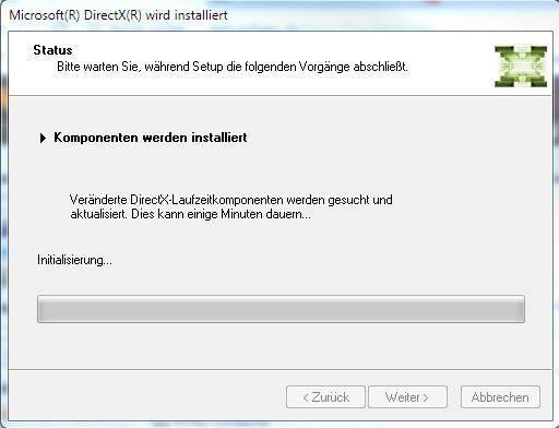 Directx 9 Installieren