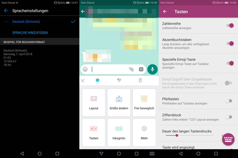 Android Umlaute