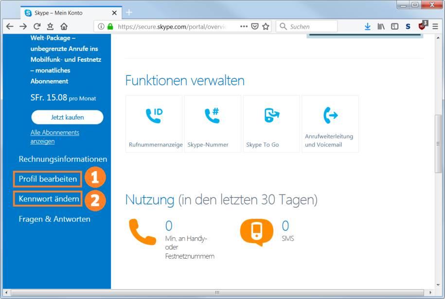 Skype Konto Gehackt