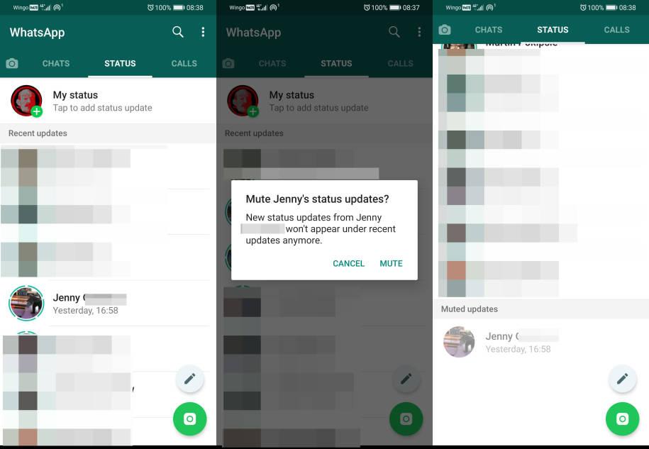 Whatsapp Stumme Meldungen