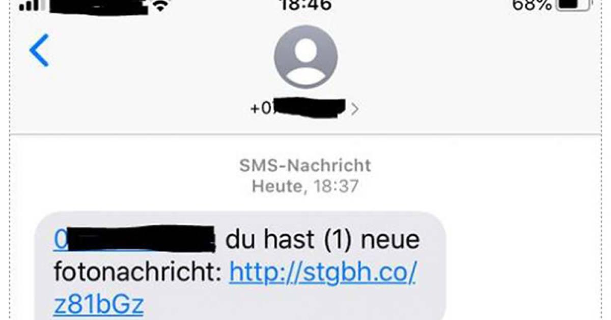 SMS-Betrugsmasche: Sie haben eine Fotonachricht - pctipp.ch