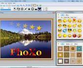Phoxo ist ein leicht zu bedienendes Bildbearbeitungsprogramm mit Ebenen-Technik, Clipart- und Rahmen-Bibliotheken sowie mehr als 40 Effekten.