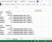 Excel kennt fürs Umwandeln von Bits, Bytes usw. spezielle Funktionen
