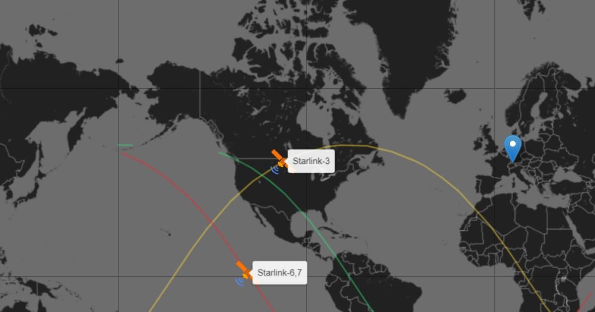 Wann Kann Ich Starlink-Satelliten Sehen