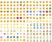 Viele Emojis