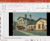 PowerPoint mit einem Bild