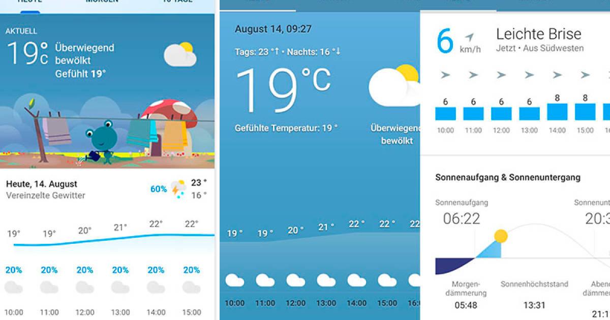 Ok Google Wie Wird Das Wetter Morgen