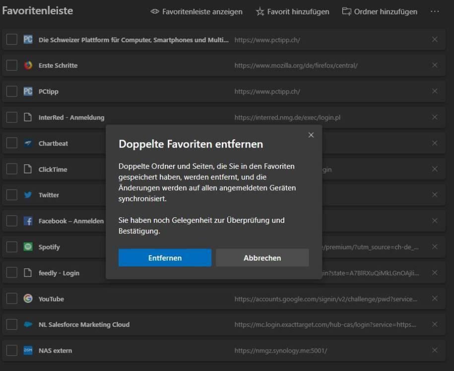 Firefox Doppelte Lesezeichen
