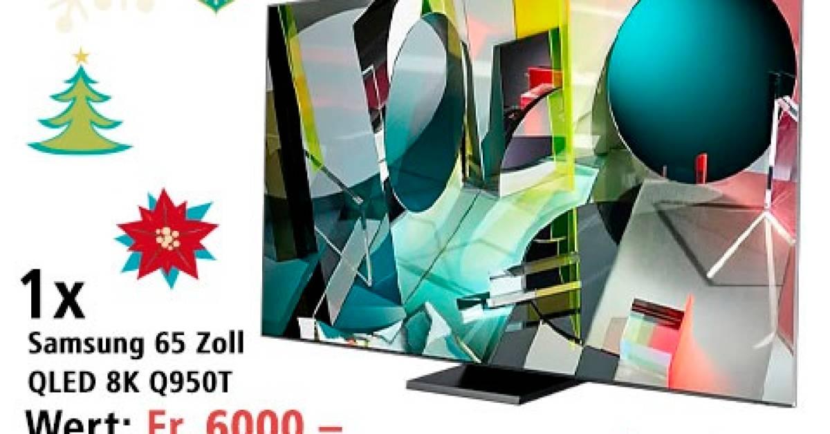 Samsung Fernseher Gewinnen
