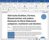 Screenshot Word-Dokument mit Beispieltext