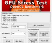 Mit dem Furmark Grafik-Benchmark bringen Sie Ihre Grafikkarte so richtig in schwitzen. Das Analyse-Tool prüft sowohl die Performance, wie auch die Stabilität Ihrer GPU.