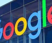 Google Logo an Gebäude